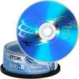 OEM Tdk 16X Blank Dvd-R 4.7Gb 100Pc Box