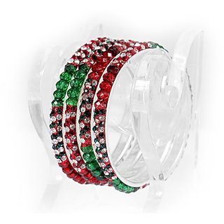 Shringar Bangles Multicolor Bridal Bangles With Plastic Box