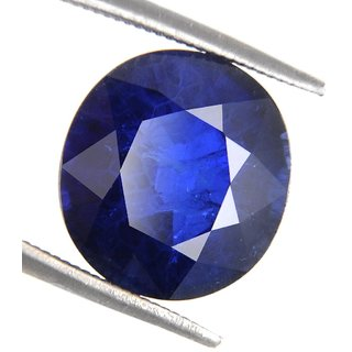 MANGLAM RAJ RATAN 7.25 RATTI BLUE SAPPHIRE (NEELAM) GEMSTONE WITH LAB CERTIFIED