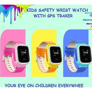 KIDS SAFETY WRIST WATCH WITH GPS TRACKER/GPS WRIST WATCH FOR CHILDREN SAFETY