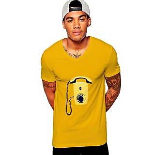 Uptown 18 Yellow Printed t-shirt