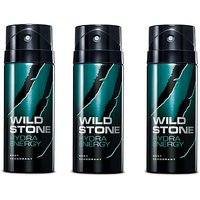 Wild Stone 3 pcs. Hydra Energy Deo Spray - 150 ml
