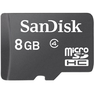 Sandisk Basic 8 Gb Microsdhc Class 4 20 MbS Memory Card available at ShopClues for Rs.450