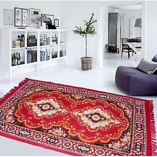 V Decor Polyester Carpet (52x75 inches)