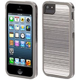Griffin Abstract Separates Back Case Cover For Apple IPhone 5S,5 - White / Clear