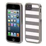 Griffin Cabana Seperates Back Case Cover For Apple IPhone 5 / 5S - White / Clear