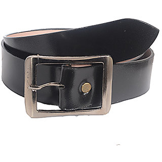 Aam Shopping Men Black Genuine Leather Belt ASB00684