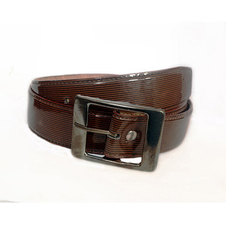 Aam Shopping Men Brown Artificial Leather Belt ASB0650