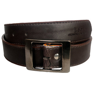 Aam Shopping Men Brown Artificial Leather Belt ASB0652