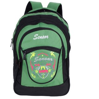 Sensor Black  Green Macasa Backpack