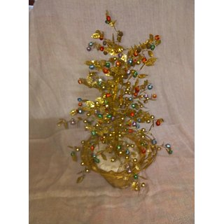 parveen handicraft Hand made golden tree