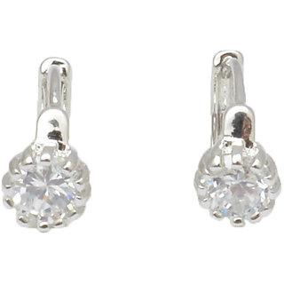 Reva Silver Alloy Fashion Clip On Earring