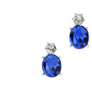 Silvosky Charming Rhodium Plated Silver Drop Earring SE2022