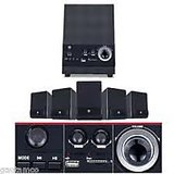 iBall Dhwani 5.1 USB Home Theatre SPEAKER SET With FM Radio