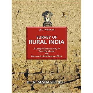 Survey of Rural India (Uttar Pradesh), Part-Iii, 17Th