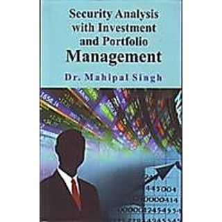 Security Analysis With Investment And Portfolio Management