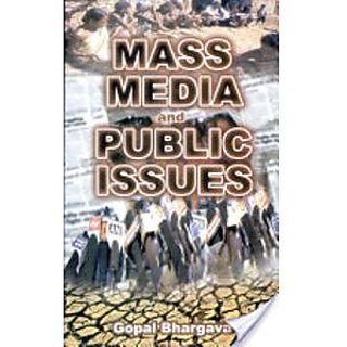 Mass Media And Public Issues