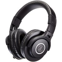 Audio Technica ATH-M40X Professional Studio Monitor Over-ear Headphones (Black) with 1 year manufacturing warranty