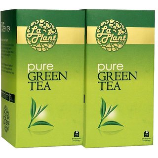 LaPlant Pure Green Tea - 50 Tea Bags (Pack of 2)