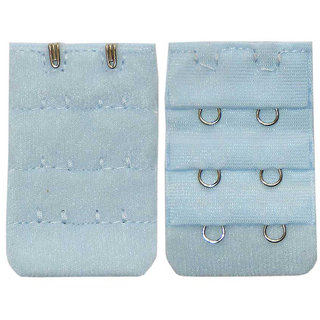 AAYAN BABY Light Blue 2 Hook Bra Strap Extender (Pack of 1)