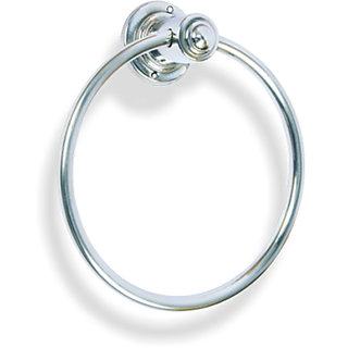 SHRUTI( Niku) Stainless Steel Round Napkin Ring / Towel Ring / Towel Holder-1618