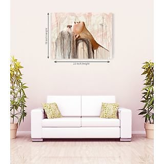 Amazing Alone Girl Canvas Painting