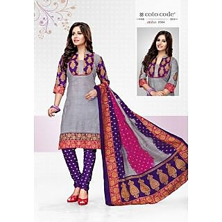 Cotocode fancy Cotton Unstitched Salwar Suit Dress Material JTCCV14-8364