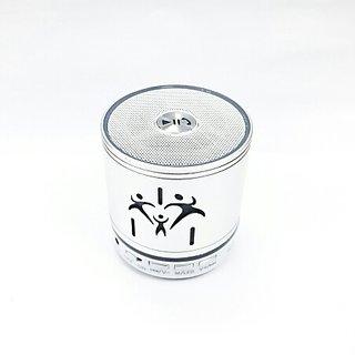 KH bluetooth speaker- MINI MUSIC BOX (SILVERY GREY)