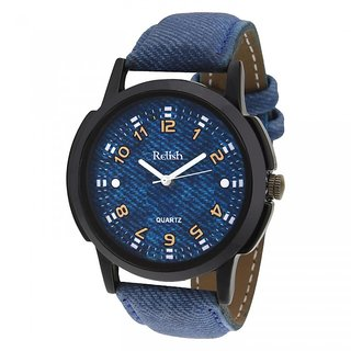 Relish Analog Black Dial Watch For Men