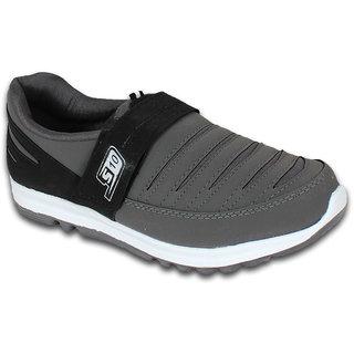 Smithwear Grey  Black Sport Shoes