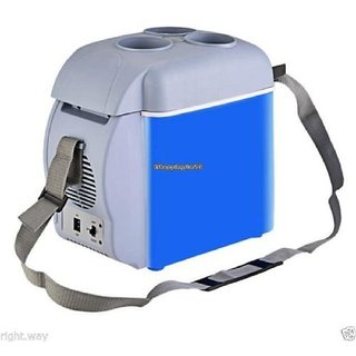 12V 7.5L Portable Car Cooling Warming Refrigerator Fridge + FREE ONE U8 WATCH
