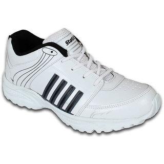 Smithwear White  Black Sport Shoes