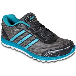 Smithwear Grey  Sea Green Sport Shoes