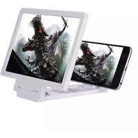 Imported 3D Glass Screen Enlarger For Mobiles  Tablets-White