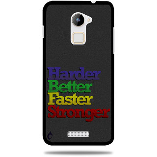 Cool Mango Printed Pudding TPU Back cover for CoolPad Note 3 Lite - Flexible Protection Case for Cool Pad Note 3 Lite (Harder, Better, Faster, Stronger)