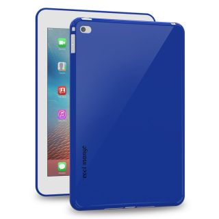 Cool Mango FlexiGel Back Cover for Apple iPad Mini 4 - Slim Fit Flexible, Glossy and Luxurious Back case for iPad Mini 4 - Precise Fit  Essential Device Protection (Cobalt Blue)