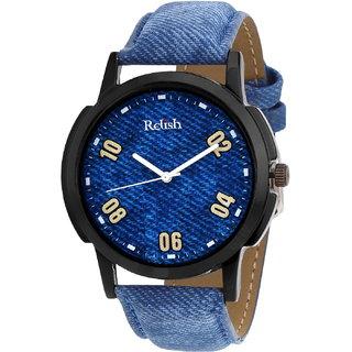 Relish Denim Analog Wear Watch For Men