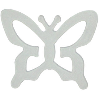 AAYAN BABY Clear Butterfly Bra Strap Clips (Pack of 1)