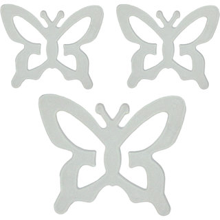 AAYAN BABY Clear Butterfly Bra Strap Clips (Pack of 3)