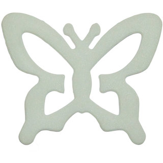AAYAN BABY White Butterfly Bra Strap Clips (Pack of 1)