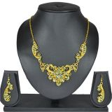 Aakshi Lac Jewellery Set In Green