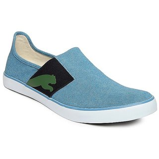 Puma Smart Blue Slip-on Canvas Shoes