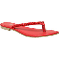 Bata WomenS Scarlett Pink Flats