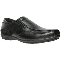 Bata MenS Macc Black Formal Slip On Shoes