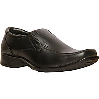 Bata MenS Remo Black Formal Slip On Shoes