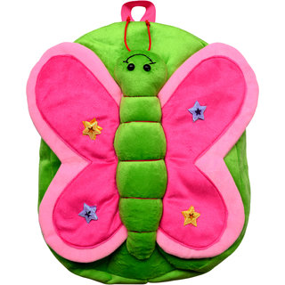 Funtastik Green Butterfly Design Kids Bag