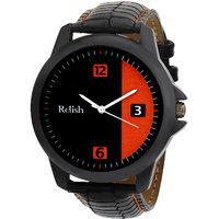 Relish Analog Black Dial Mens Watch