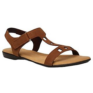 Bata WomenS Sophie Sandal Brown Sandals