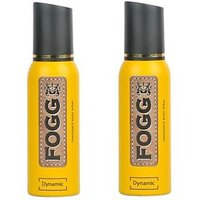 Fogg Dynamic  Body Spray -120 Ml (pack Of 2)