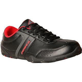 Power MenS Relish Black Lace-Up Sport Shoes